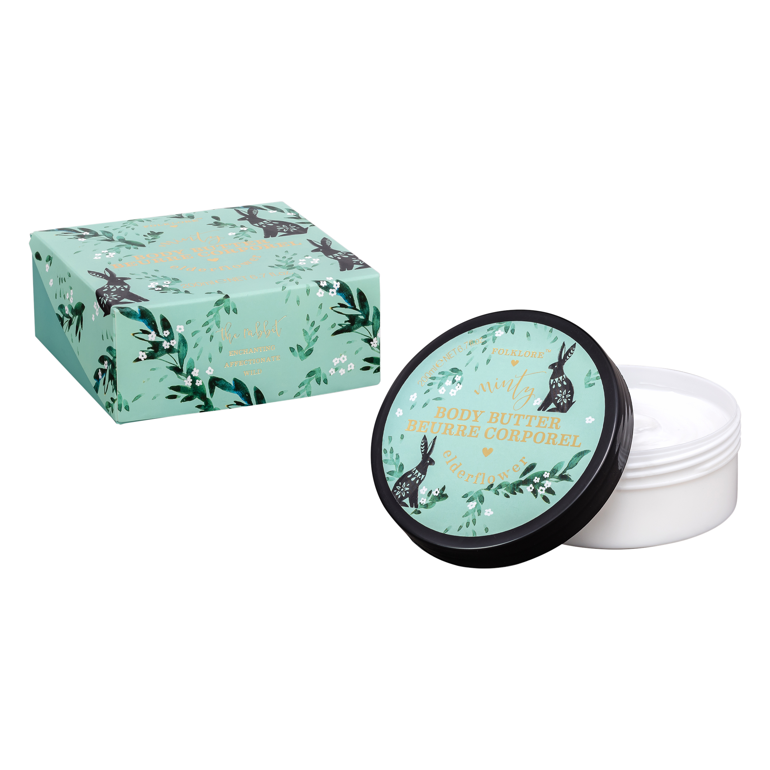 Body Butter, Minty Elderflower