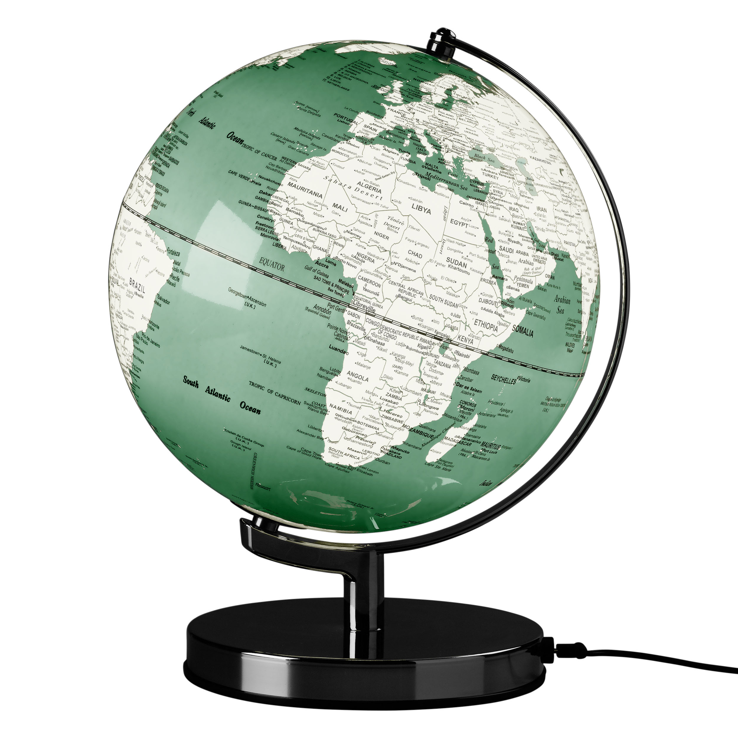 Swedish Green 10″ Globe Light