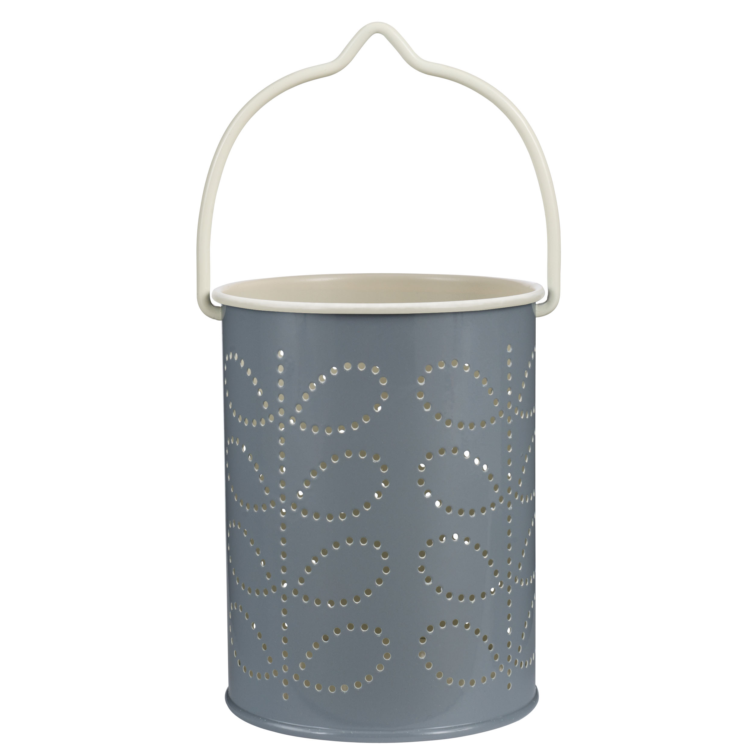 Cool Grey Tea light Lantern