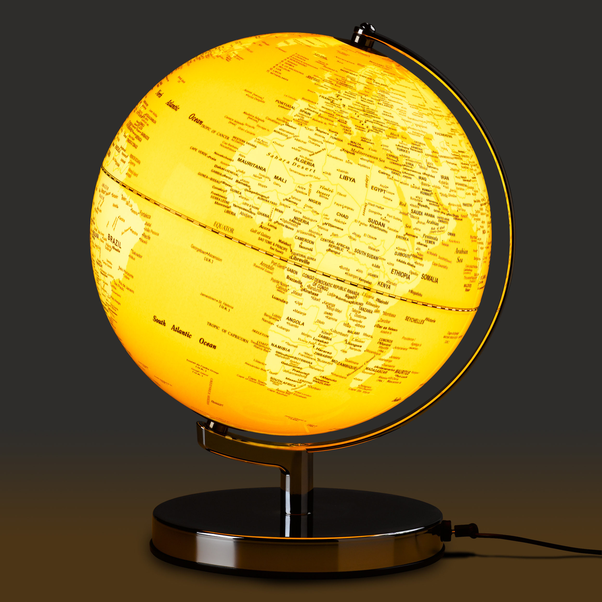 English Mustard Globe Light