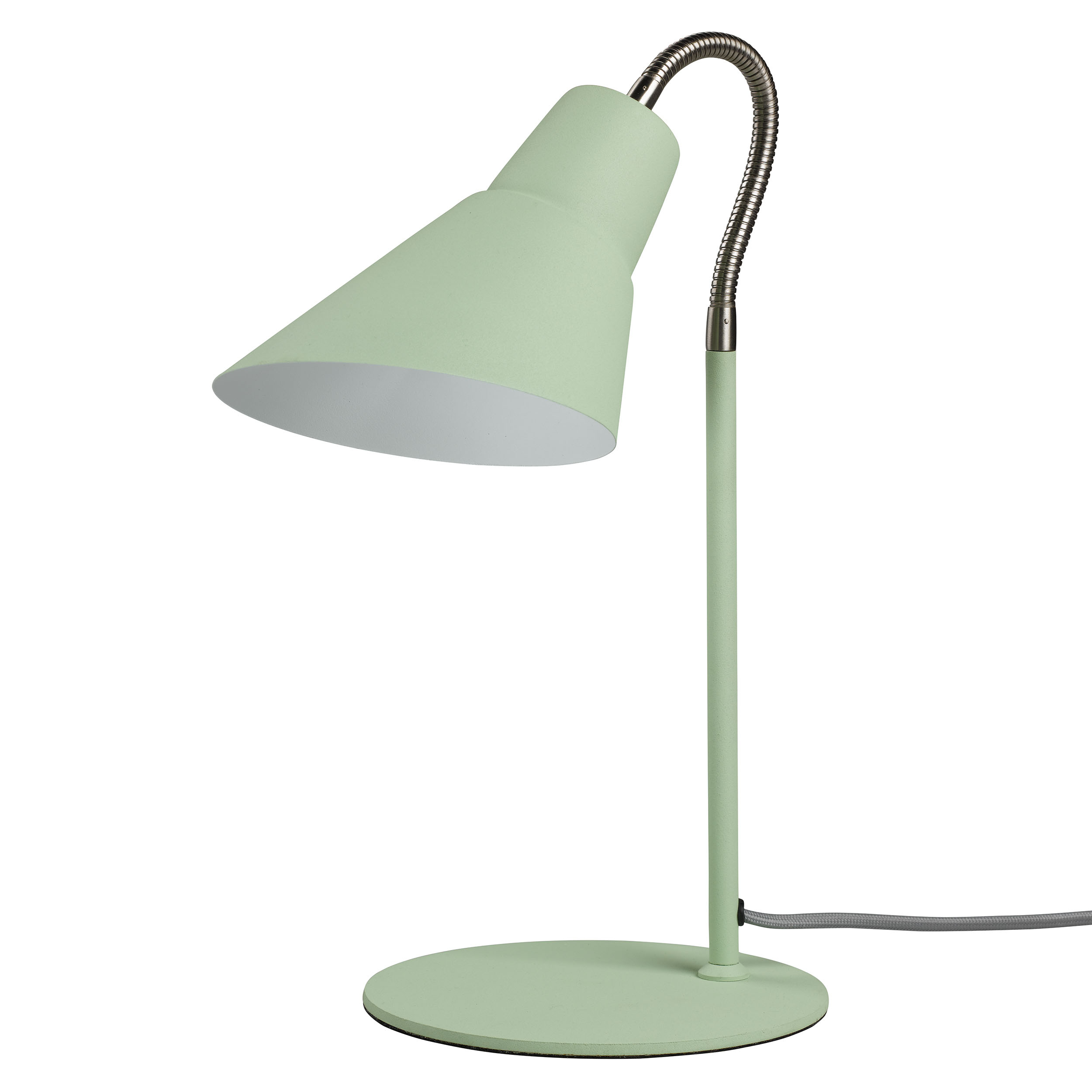 Swedish Green Gooseneck Lamp