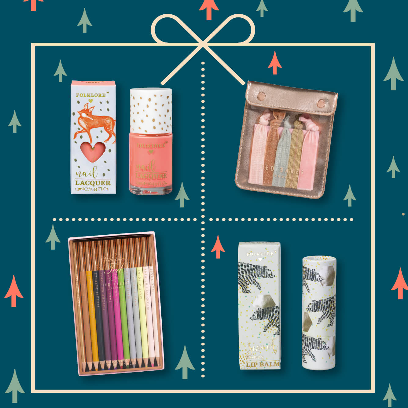 Women's Holiday Stocking Fillers from Wild & Wolf -All wrapped up