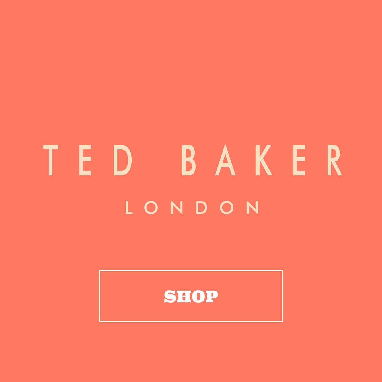 Shop Ted Baker London by Wild & Wolf