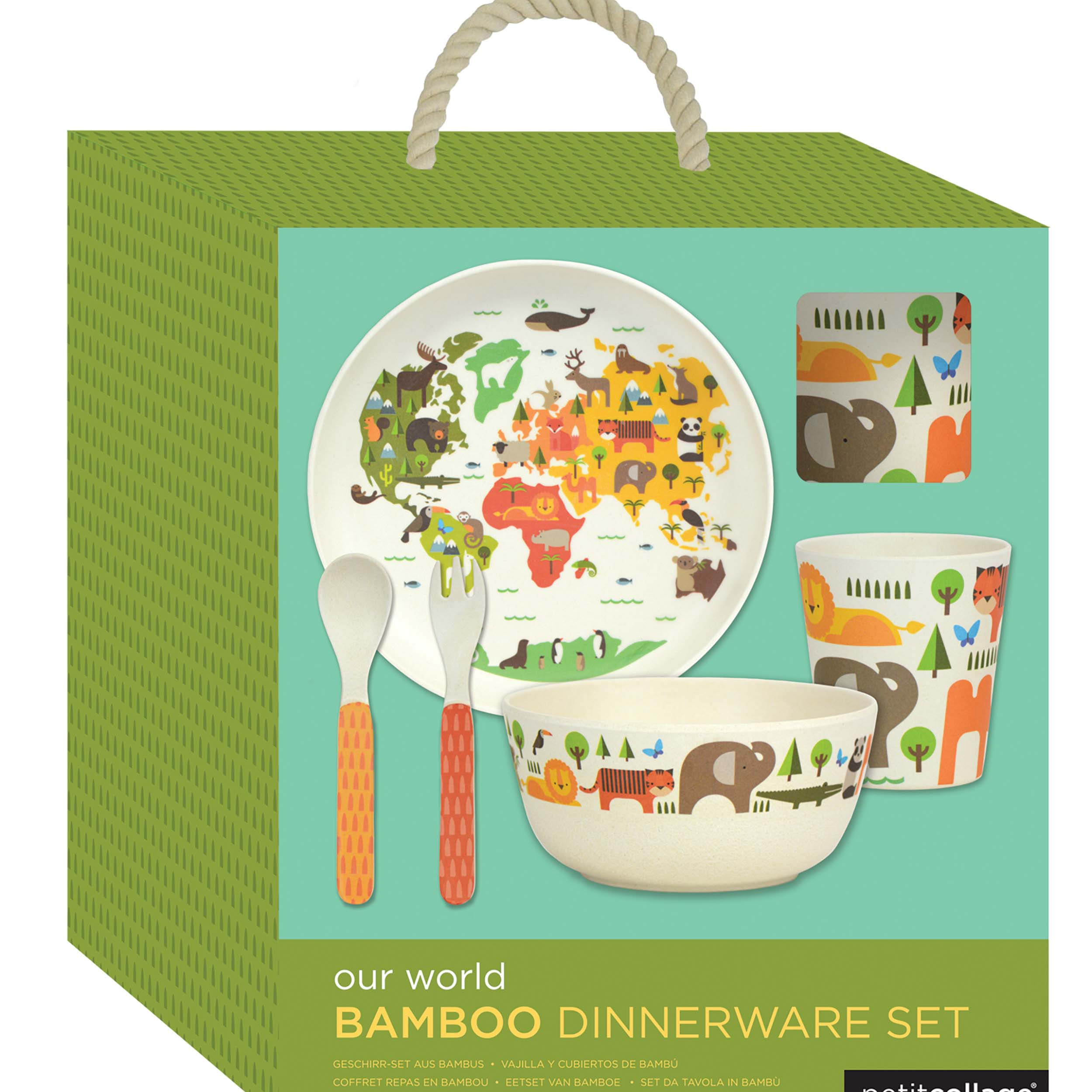 Bamboo Dinnerware Set World