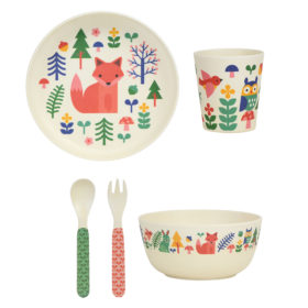 Bamboo Dinnerware Set Forest