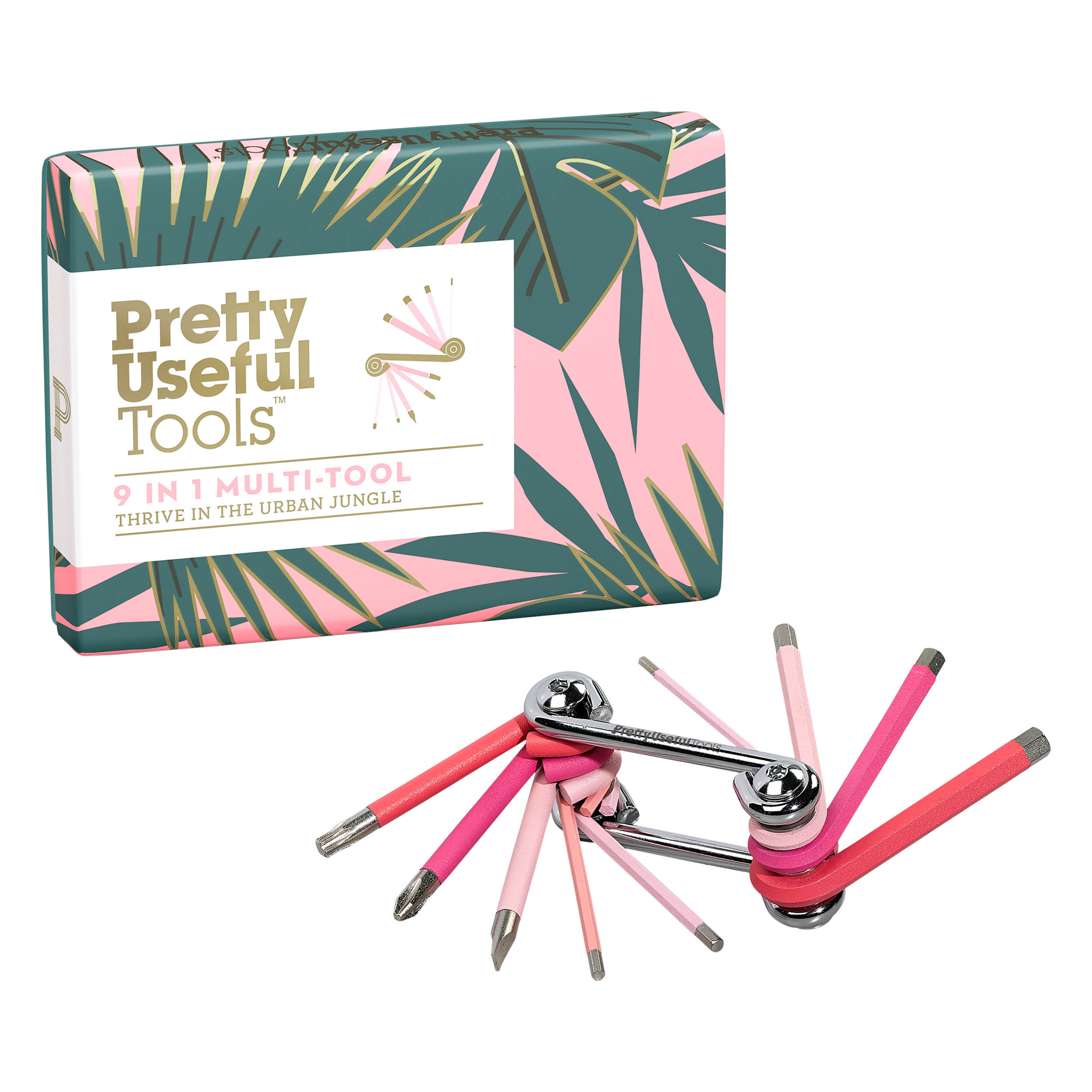 9-in-1 Multi-Tool, Pink Paradise