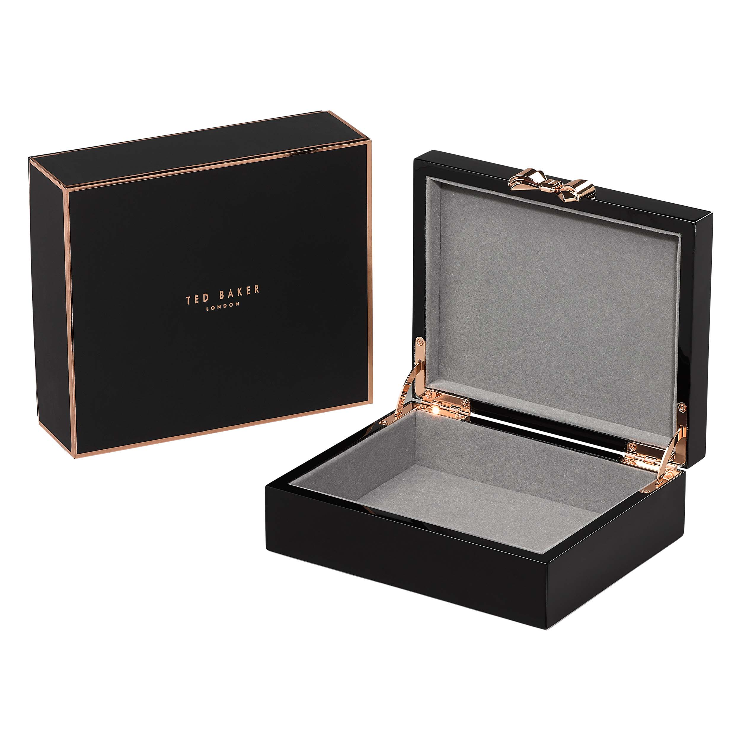 Medium Jewellery Box, Lacquer, Black
