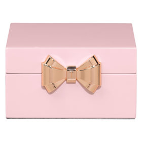Small Jewellery Box, Lacquer, Pink