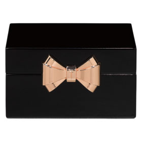 Small Jewellery Box, Lacquer, Black