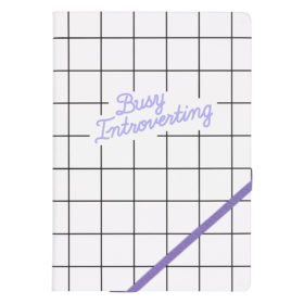 A5 Notebook, Busy Introverting