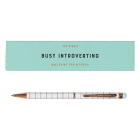 Pen & Case, Busy Introverting