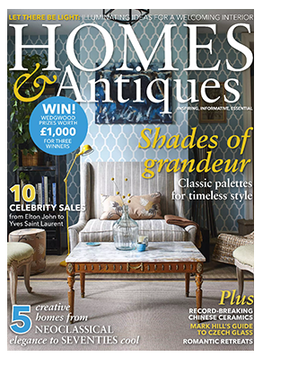 In Page Press Cover Styleathome Homesantiques Jan18 332px X 407px